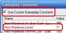Warcraft World Editor Hero Maximum Level Over 10